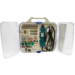 Kit Mini Retifica / Micro Retífica 163 Acessórios - Sh 250w