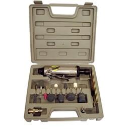 Kit Retífica Pneumática 1/4 com Maleta EDA