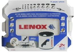 Kit Serra Copo com Ranhura de Remoção 11 Peças 1815855 Lenox