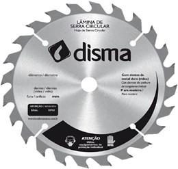 Lâmina de Serra Circular 200mm x 30 mm, 24 dentes DISMA