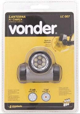 Lanterna para cabeça LC 007 - Vonder