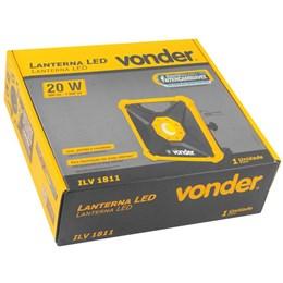 Laterna de Led à Bateria 18V ILV 1811 Vonder - Bateria e Carregador não incluso