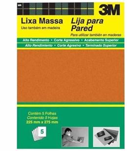 Lixa  Massa 3M  230U grao 180 Embalagem 50x1