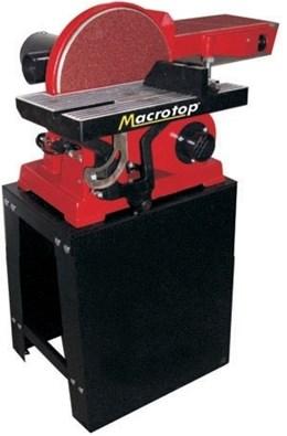 Lixadeira Combinada 750 watts com bancada e cavalete - LCM750 - Macrotop Bivolt