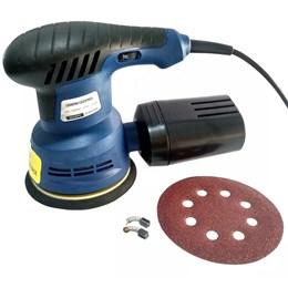 Lixadeira Excêntrica 270w 110v - 125mm 5 Velocidades