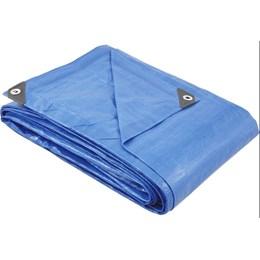 Lona Polietileno 2mx2m Azul 150 Micras Reforçada /Peça - Vonder