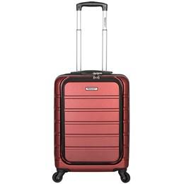 Mala de Bordo Executiva Bordô para Notebook ABS Roda Dupla 360º Cadeado TSA - Best