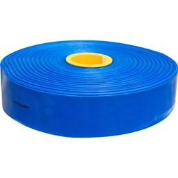 """Mangueira Chata 3"""" Azul - 50m - Vonder"""