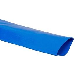 """Mangueira Chata 4"""" Azul - 50m - Vonder"""