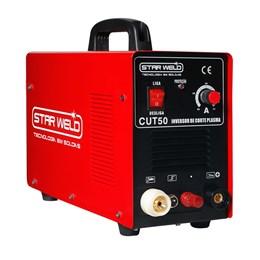 Máquina de corte plasma com tocha CUT-50 STAR WELD