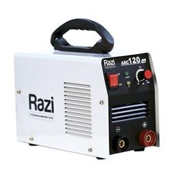 Máquina De Solda Inversora Digital Arc120 127v Razi