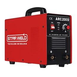 Maquina de Solda Inversora Star weld - ARC 200 Bivolt