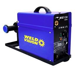 Máquina de Solda Mig 130 MM14 Weld Vision | Monofásica 220v