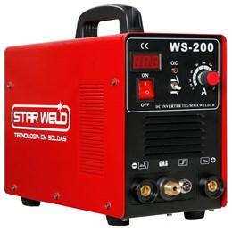 Máquina de Solda multifunçao WS-200 BIVOLT STAR WELD