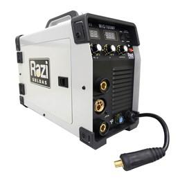 Máquina Inversora de Solda Multiprocesso MIG/MMA 180A 220V Razi