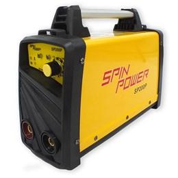 Máquina Inversora de Solda SP200P 200A 220V Spin Power - Vulcan Equipamentos