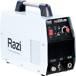 Máquina Inversora De Solda Tig 200S Razi Monofásico AC 220V