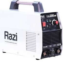 Máquina Inversora De Solda Tig Mma 200A Razi Monofásico Dc  220V