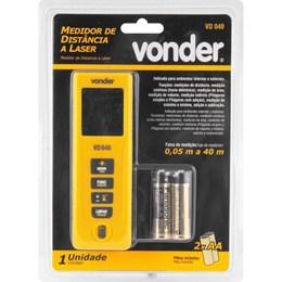 Medidor de distância a laser 40m VD040 - VONDER
