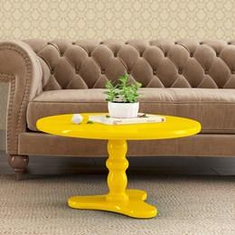 Mesa Centro Intense Amarelo - Patrimar
