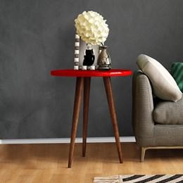 Mesa De Apoio Legs  Vermelho - Patrimar Móveis