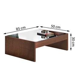 Mesa de Centro Riviera Chocolate - Cel Móveis