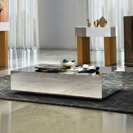 Mesa de Centro Viggor Espelhada - Cel Móveis
