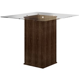 Mesa de Jantar Havana 0,80x0,80m C/04 Cadeiras  - Cel Móveis