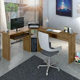 Mesa Escrivaninha de Canto em L Estação de Trabalho Frejó Zanzini