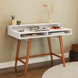 Mesa/Escrivaninha Para Computador Hannover Branco - Politorno
