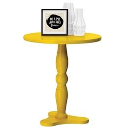 Mesa Lateral Intense Amarelo - Patrimar
