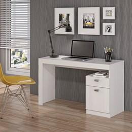 Mesa Para Computador 1 Gaveta Branco Melissa Permobili