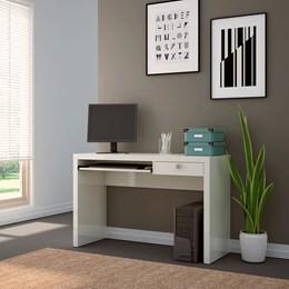 Mesa para Computador 1 Gaveta Off White - Dalla Costa