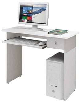 Mesa para Computador Dalian Plus Branco  - Mavaular Móveis