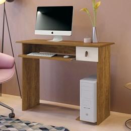 Mesa Para Computador Dalian Plus Canion/Off White - Mavaular