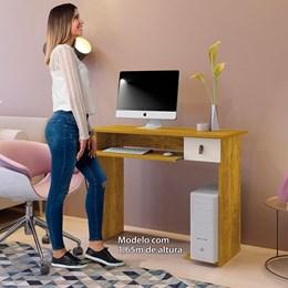 Mesa Para Computador Dalian Plus Me/Off White - Mavaular