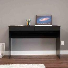 Mesa para Computador Lindoia 2 Gavetas Preto Politorno