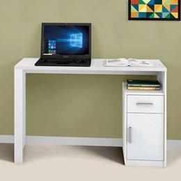 Mesa para Computador Luminos Branco  - Mavaular Móveis