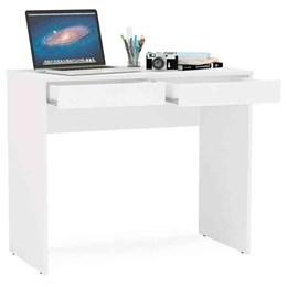 Mesa para Computador Tijuca Branca 2 Gavetas  Politorno