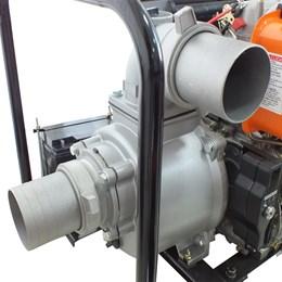 Motobomba VMBE40D autoescorvante 4'' a Diesel 4T 406CC 9HP Partida Elétrica - Vulcan Equipamentos