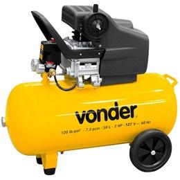 Motocompressor de Ar MCV50 50 litros 127V VONDER