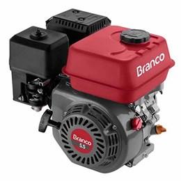 Motor À Gasolina 4t 5,5cv Sem Alerta De Óleo B4t-5.5h - Branco Motores