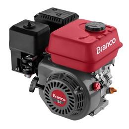 Motor à gasolina 5,5 hp 4 tempos partida manual B4T-5.5H Branco