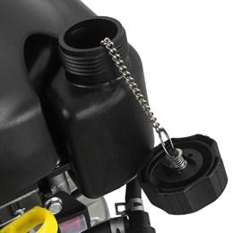 Motor a Gasolina Vertical 4T 6,0CV com Eixo Curto e Partida Elétrica - Branco Motores