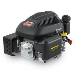Motor a Gasolina Vertical 4T 6,0CV com Eixo Curto e Partida Manual - Branco Motores