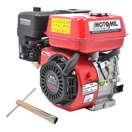 Motor Estacionário A Gasolina 5,5 Hp Eixo Horizontal Mg55 Motomil