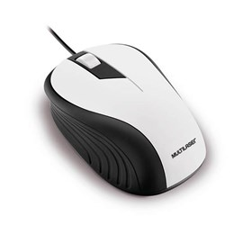 Mouse Emborrachado Usb 1200Dpi - Multilaser Mo224