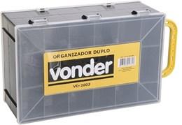 Organizador plástico duplo para ferramentas VD 2003 VONDER