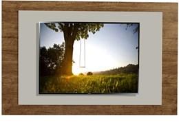 Painel Elegance Para TV até 55 Polegadas Canion TX/OFF White - Mavaular