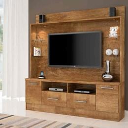 Painel Home para TV até 56Pol Buritis Candian Nobre - JCM Movelaria